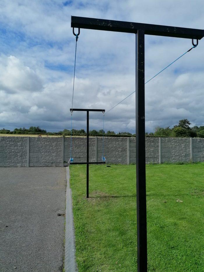 Steel Clothes Line Pole